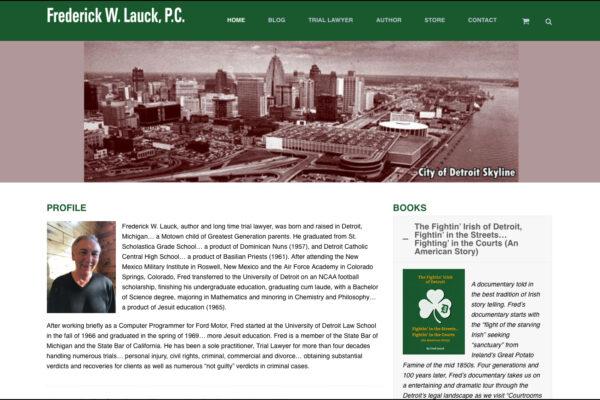 fredlauck-website